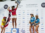 Kelia Moniz Claims Back to Back ASP Women's World Longboard Titles at the Swatch Girls Pro China