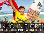 John John Florence Wins Billabong Rio Pro, Parkinson Takes Ratings' Lead